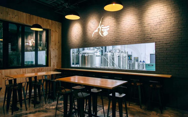 10HL Microbrewery Equipment in Korea