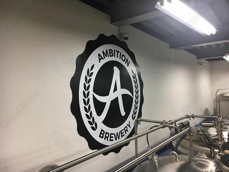Korea 1000L Four Vessel Brewhouse in Ambition Brewery