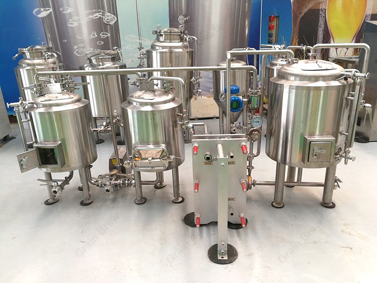 100L Pilot Home brewing Brewhouse