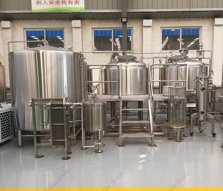 12BBL Restaurant Brewing Equipment Brewhouse