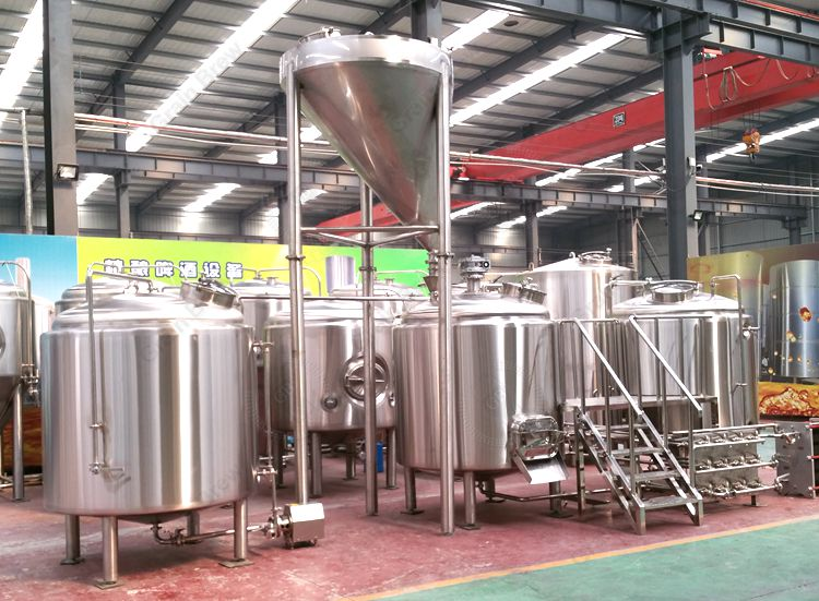 1500L Turnkey Beer Brewing System Brewhouse