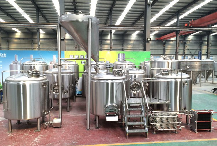 15BBL Commercial Beer Brewing Systems Brewhouse