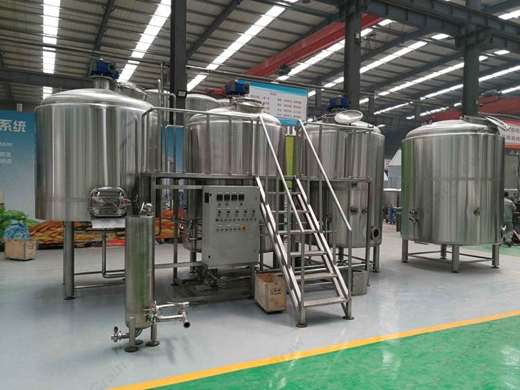 2000L Stainless Steel Beer Equipment Brewhouse