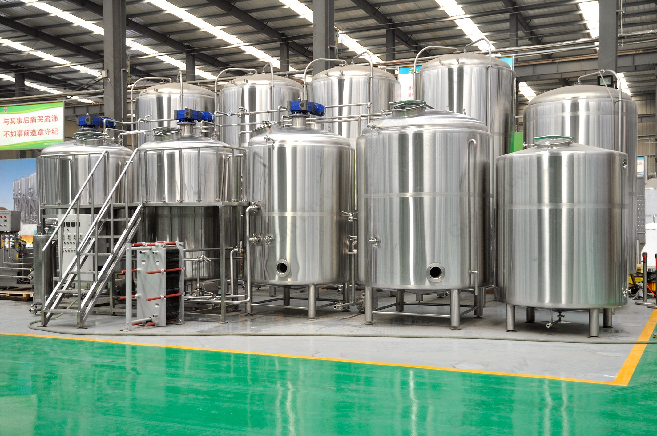 2500L Professional Brewing Equipment Brewhouse