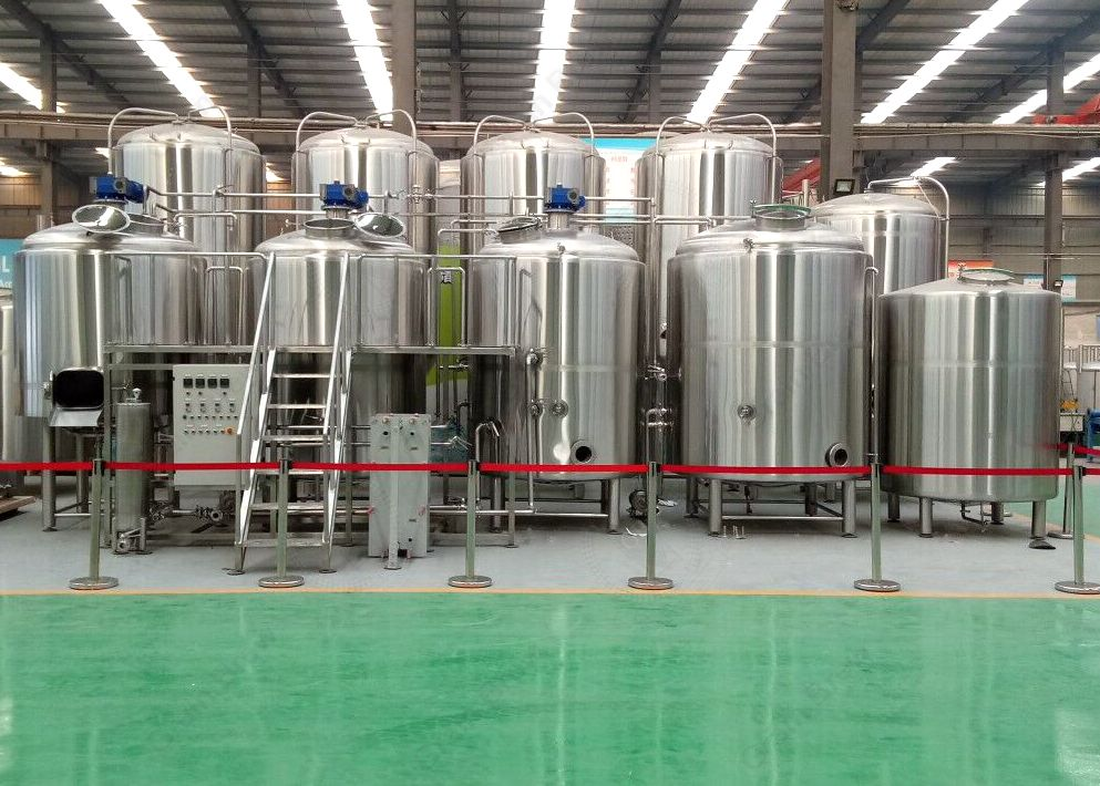 3000L Commercial Beer Brewing Equipment Brewhouse