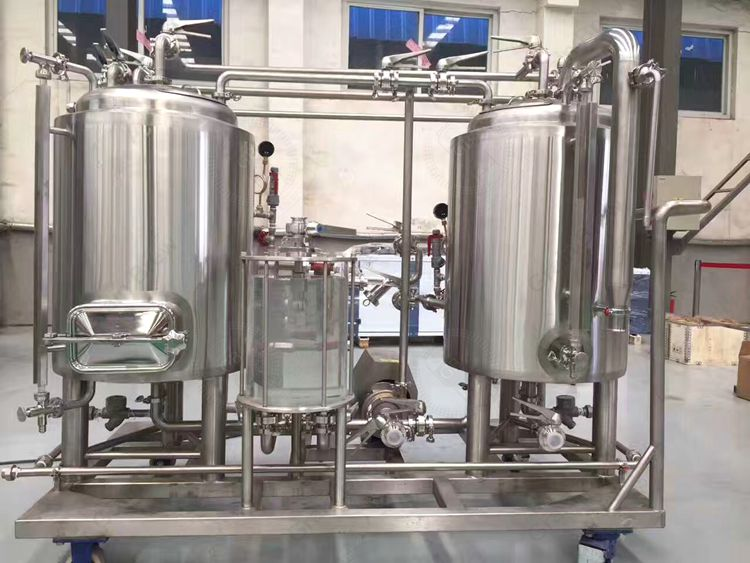 300L Mini Brewery System Brewhouse