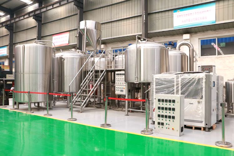 35BBL Industrial Beer Brewing System Brewhouse