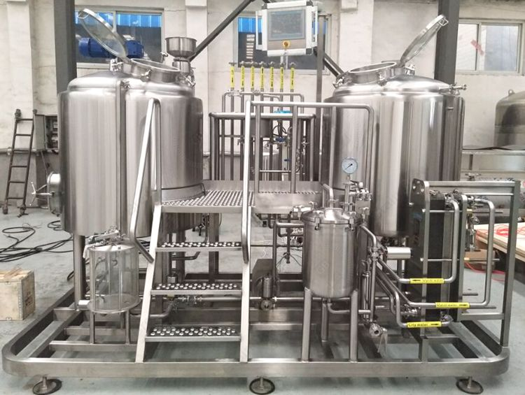 400L Brewing System Brewhouse