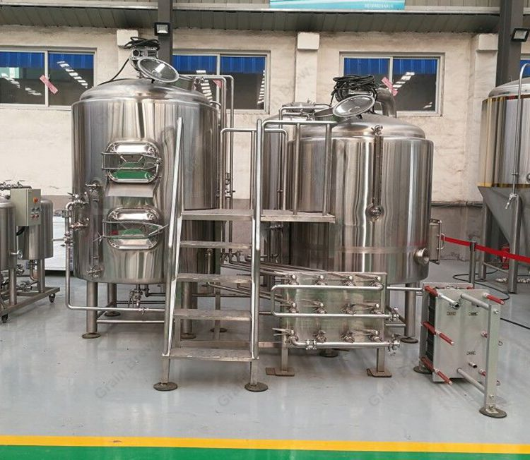 600L Beer Making Equipment Brewhouse