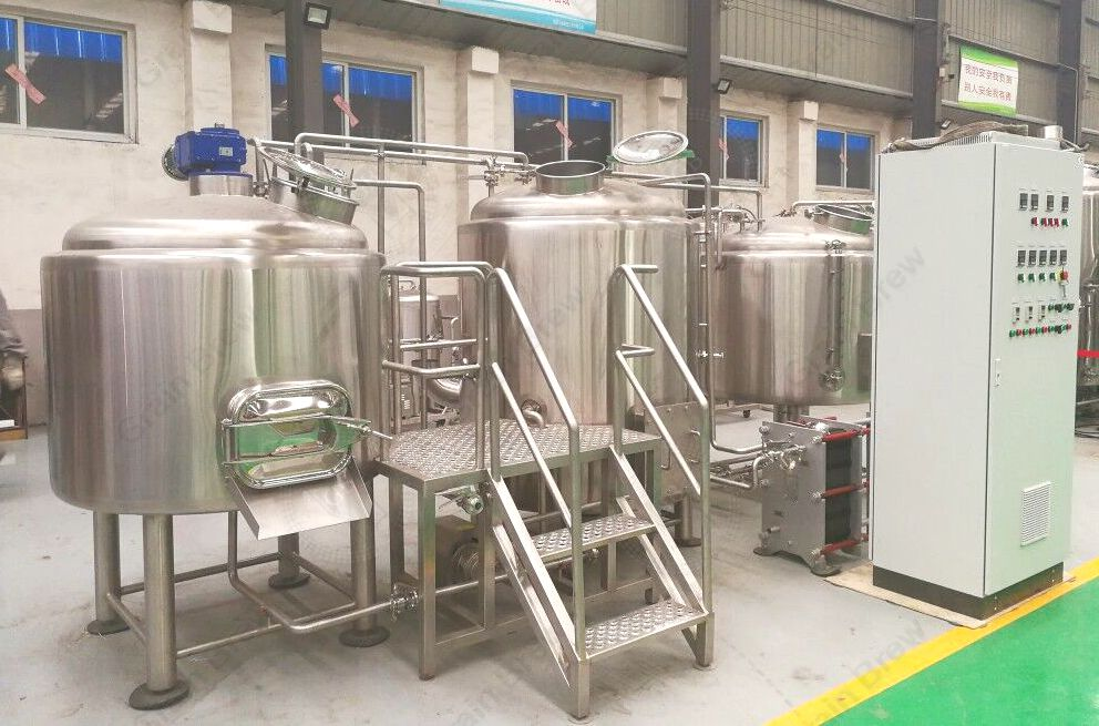 800L Beer Manufacturing Machine Brewhouse