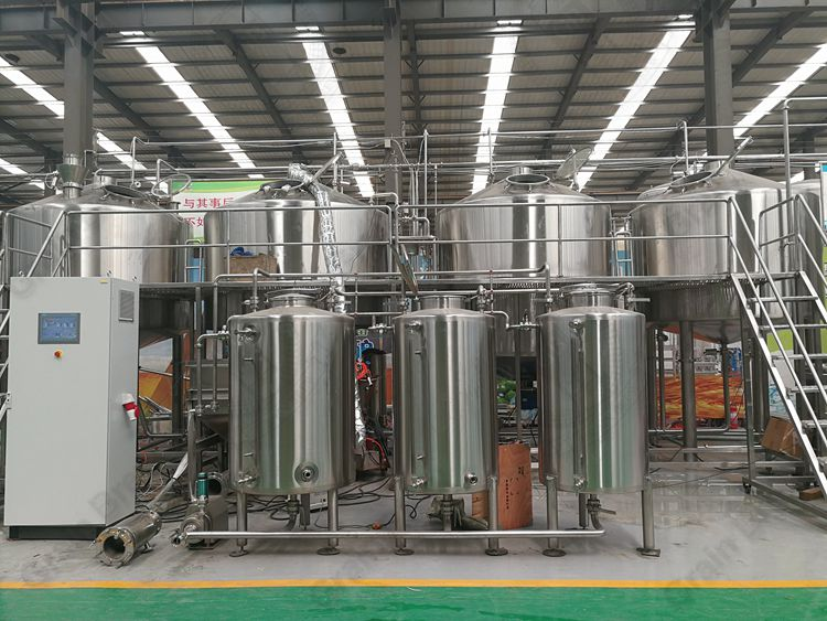 5000L Industrial Brewing Equipment