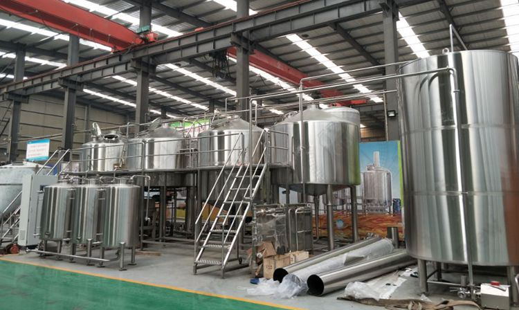 6000L Professional Brewing Equipment