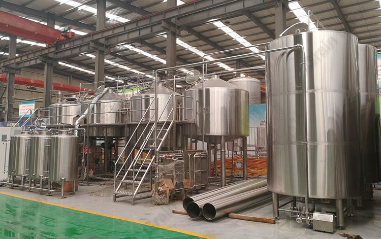 7000L Craft Beer Brewing Equipment
