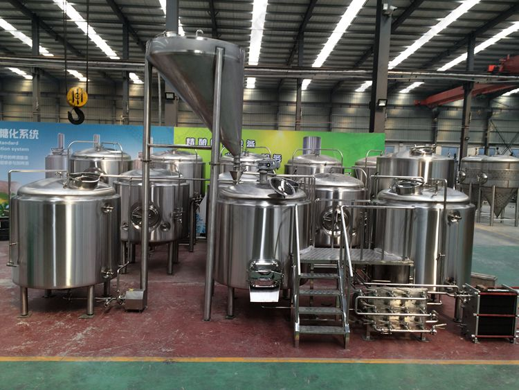 1500L Commercial Brewing Equipment